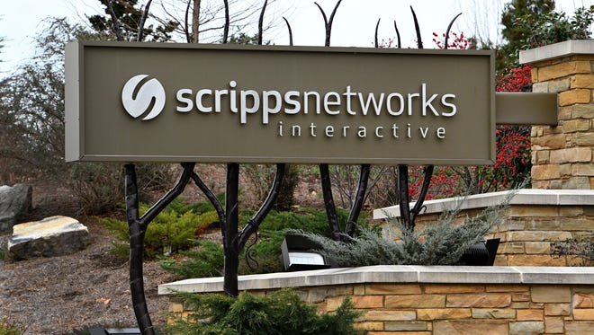 Scripps Networks Interactive corporate headquarters in Knoxville Monday, Feb. 27, 2017. Scripps Networks recently posted a record $2.4 billion in advertising revenues for the last fiscal year.