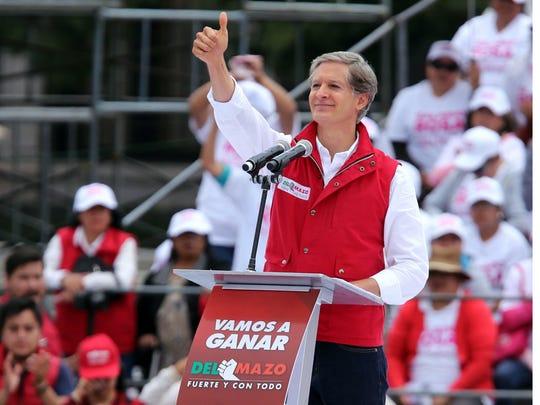 Alfredo del Mazo, candidato del PRI al gobierno de