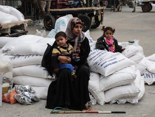 PALESTINIAN-ISRAEL-GAZA-CONFLICT-UNRWA-TRUMP