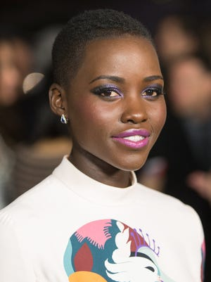 Actress Lupita Nyong'o ('12 Years A Slave') is the only black actress to receive a Golden Globe nomination for film this year.