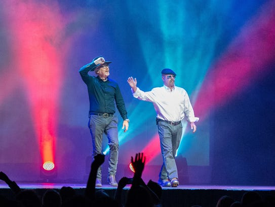 """MythBusters Jamie & Adam Unleashed!"" travels with"