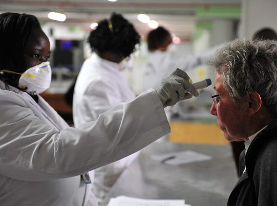 California asks feds for screeners at airports as hospitals prepare for Ebola…
