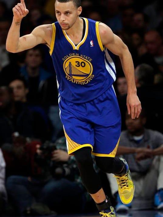 Warriors Knicks Basketball (2)