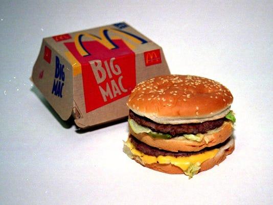 <BIG MAC; MCDONALDS>