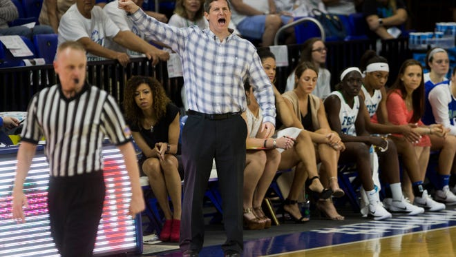 Program-founding FGCU women's basketball coach Karl Smesko directed his Eagles to their second NCAA tournament win this past season and second ranking of 25 in the final USA Today Coaches Poll.
