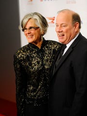 Detroit Mayor Mike Duggan and his wife, Lori Maher.
