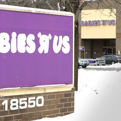 Babies R Us closing at the end of March. Future of Milwaukee-area Toys R Us stores unclear.
