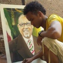 Somali artists to paint portraits Sunday