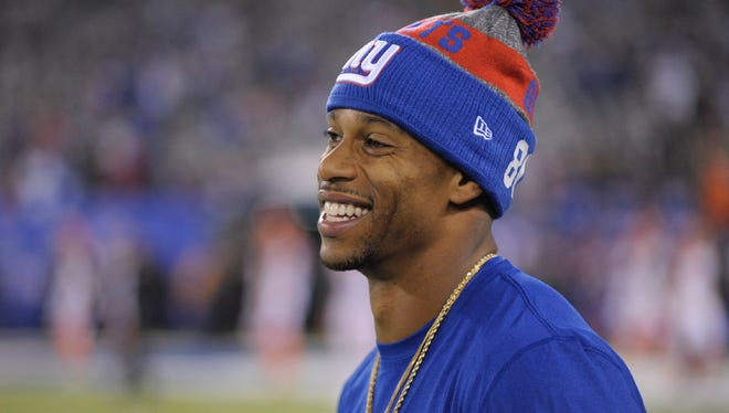 "Victor Cruz is the recipient of the George Young ""Good Guy Award,"" which the media present to the player who is most cooperative with them."