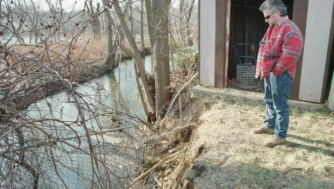 The Passaic Valley Sewerage Commission is cleaning sections of the Peckman River.