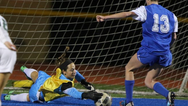 Rilee Keenan returns as a first-team all-division goalkeeper for DePaul.