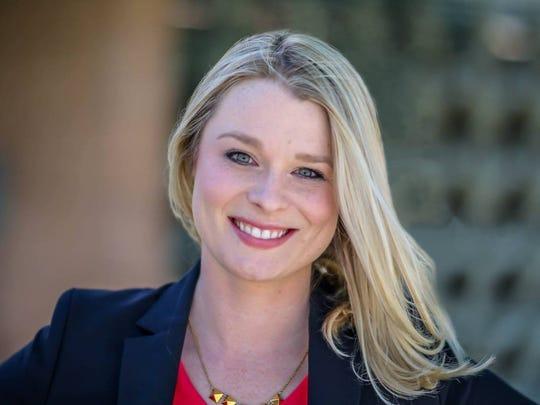 Palm Springs City Council member Christy Holstege.
