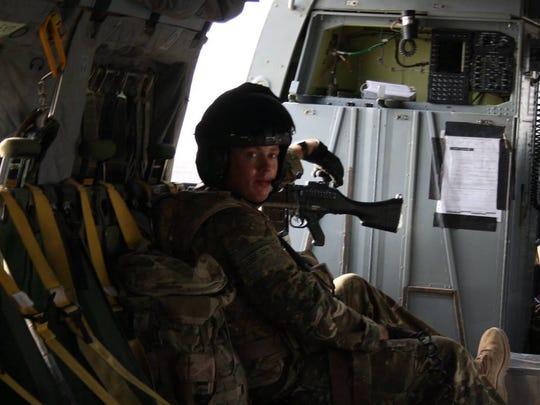 Steve Greenhalgh began running during his time in Afghanistan