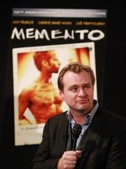 Director Christopher Nolan at Lionsgate Home Entertainment's