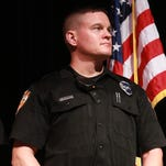 Jarrod Conley was injured in a shooting on Nov. 5. He has since returned to active duty.