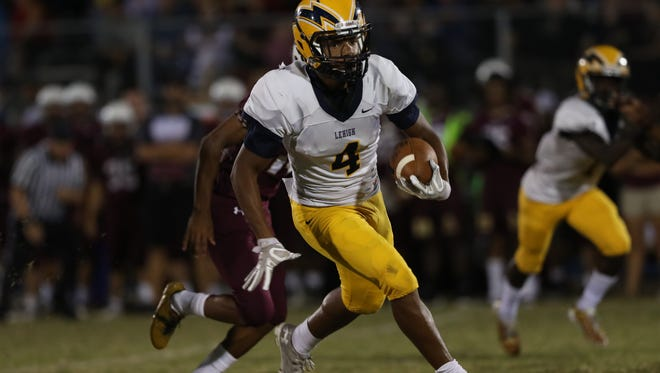 """Lehigh's James """"Bud"""" Chaney may have the area's biggest shoes to fill as he fills in for LSU signee Chris Curry at running back."""