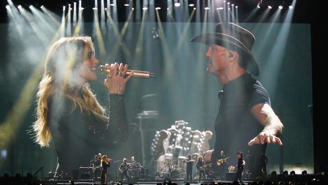 Husband-and-wife country stars Faith Hill and Tim McGraw have co-headlined three hit tours together, all of which stopped at the BMO Harris Bradley Center. Their last show at the Bradley was June 16, 2017.