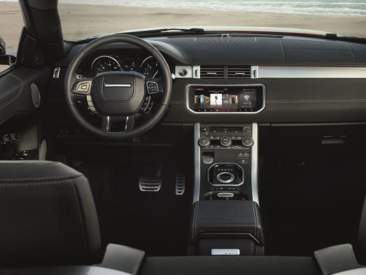 Evoque convertible is still meant to be a luxury vehicle