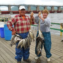 Engberg: Spring fishing at Clements Fishing Barge