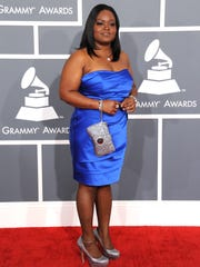 Shemekia Copeland arrives at the 55th annual Grammy