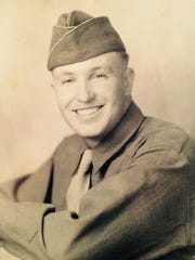 Stan Staheli, as a teenage soldier of the 4th Armored