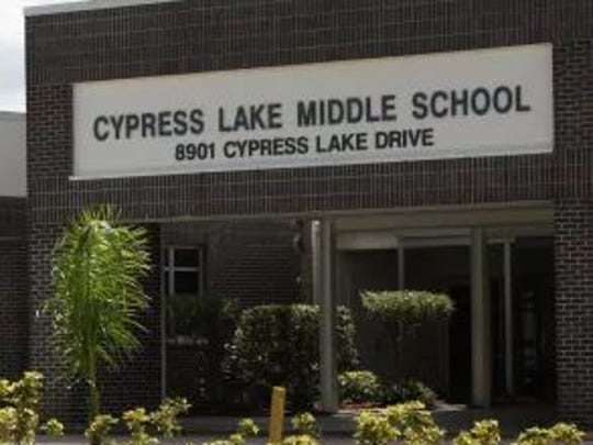 A new Cypress Lake Middle School is on the list of