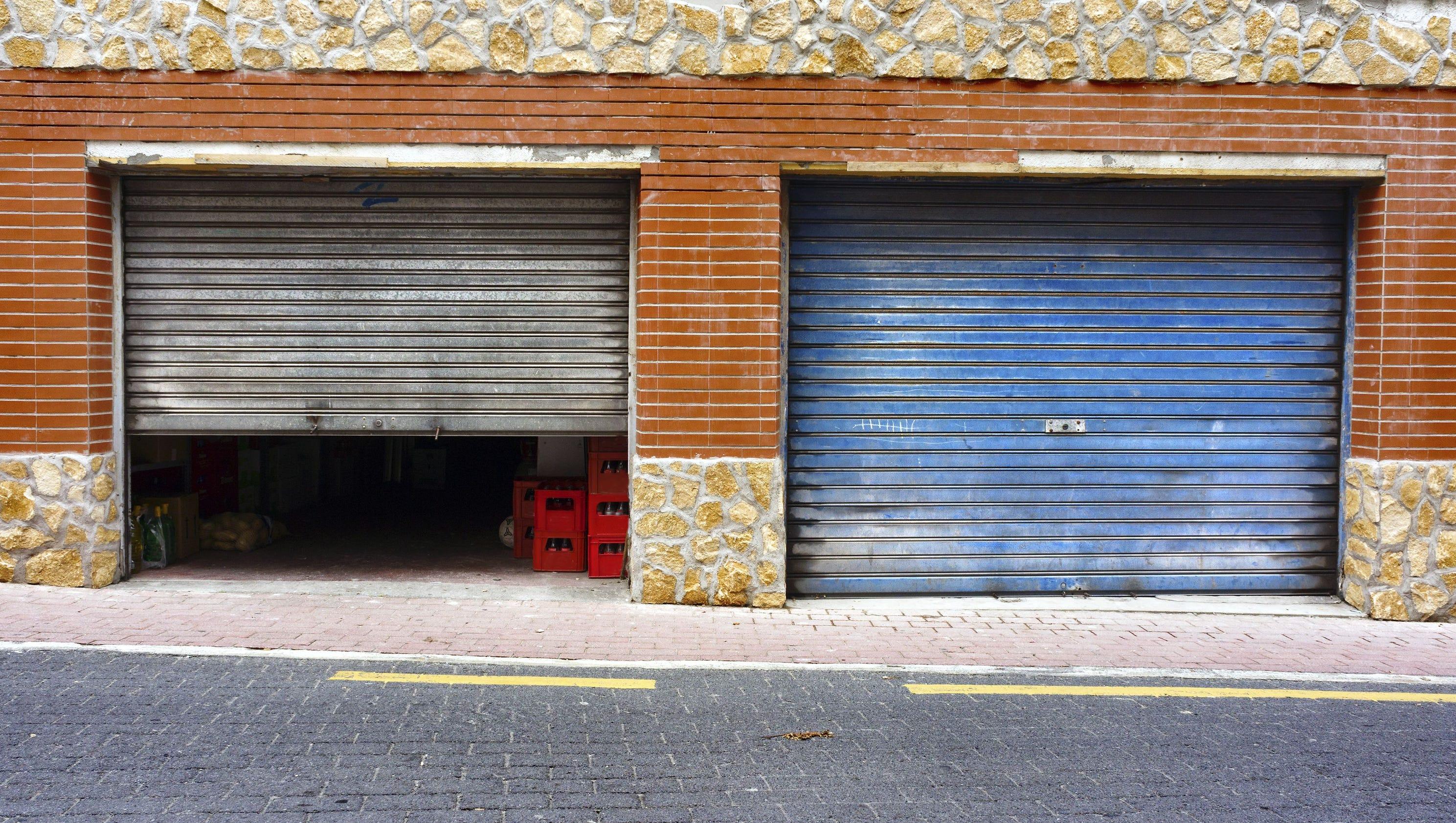 1680 #814222 Asked: Opening Garage Door A Bit Help Cool Inside? image Usa Garage Doors 36133200