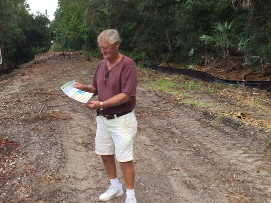 Don Bollinger is eager to see the trail completed