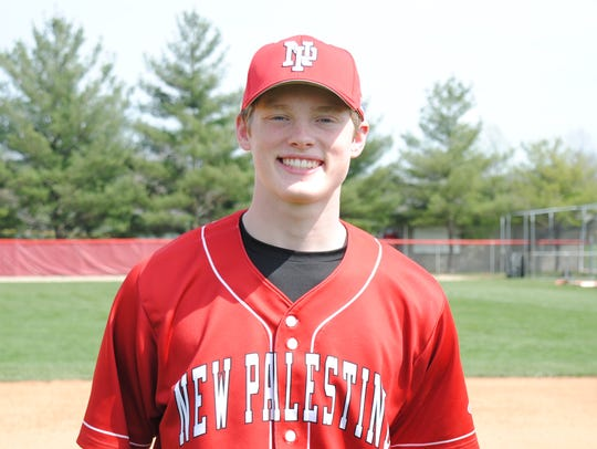 New Palestine's Jack Walker