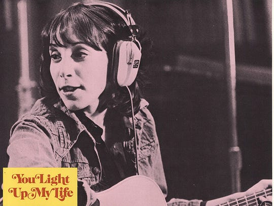 "Didi Conn stars in the 1977 film ""You Light Up My Life."""