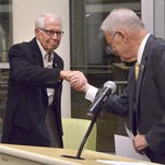 Livonia council chambers renamed after longtime councilman Joe Taylor