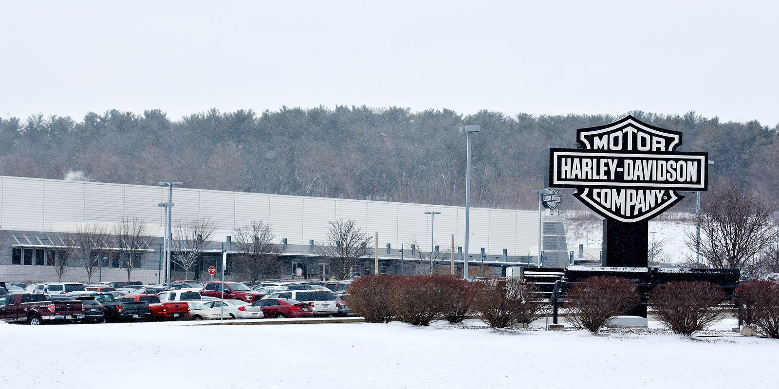 Bomb threat reported at Springetts Harley-Davidson plant
