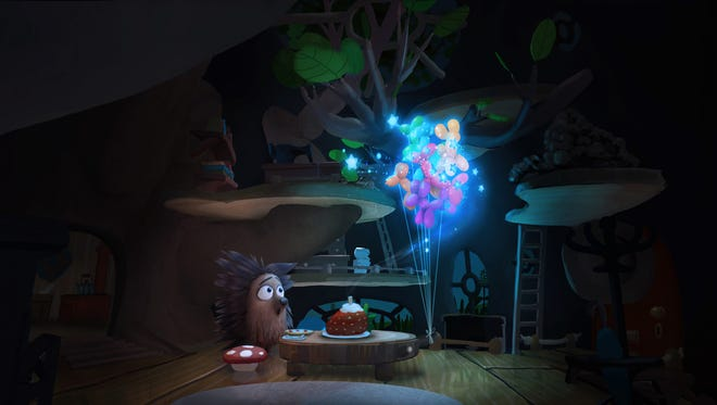 """This photo provided by Oculus shows a scene from the short animation film, """"Henry."""""""