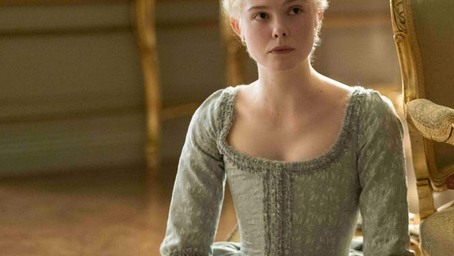 "An epic look at the reign of Russia's Catherine the Great starring Elle Fanning in ""The Great."""
