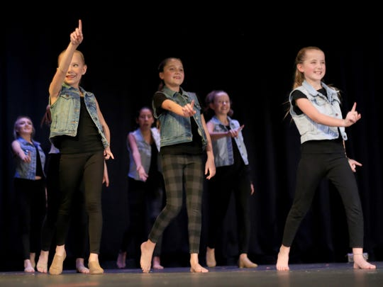 The Kalamity benefit concert on Friday in Hurricane began with student dancers from The Vault.