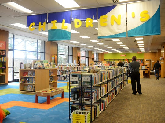 The Children's section of the Capital Area District
