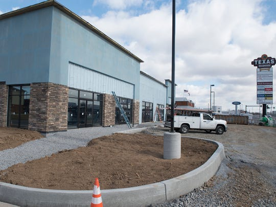 Speedwell Construction works on a retail building at