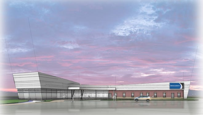 A rendering of a a 15,100-square-foot Bone & Joint clinic planned for Plover.