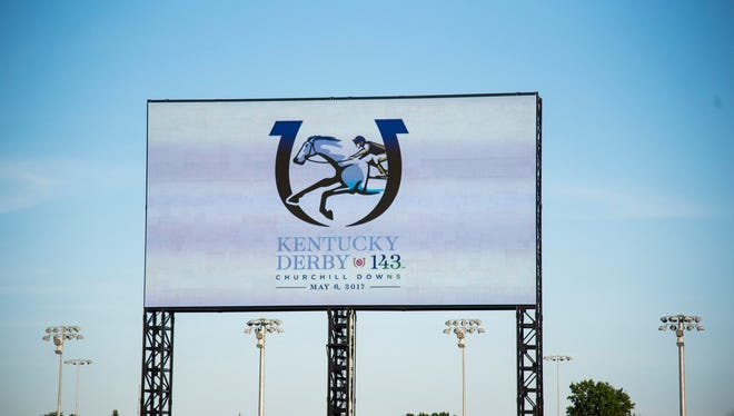 Churchill Downs revealed the new logo for Derby 143 at the Downs After Dark event on Saturday, June 18.