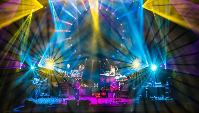The String Cheese Incident at the US Cellular Center.