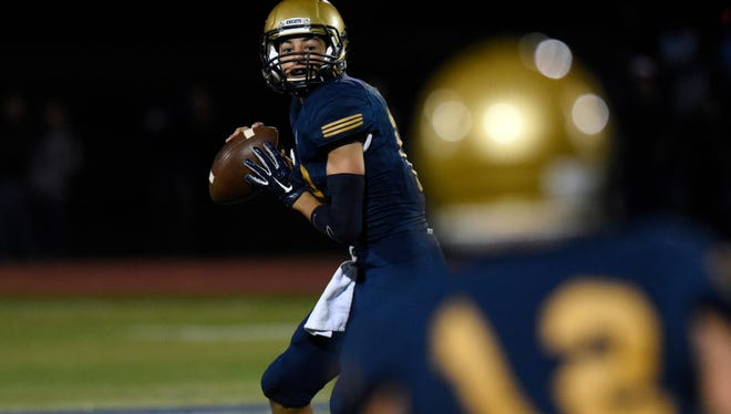 Jack Bilali threw two second-half touchdowns in NV/Old Tappan's comeback win.