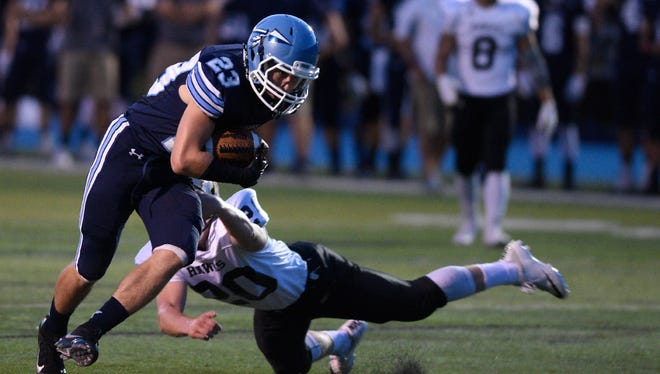 Wayne Valley's Joe Scancarella is among North Jersey's most talented wide receivers with 17 touchdown receptions this season.