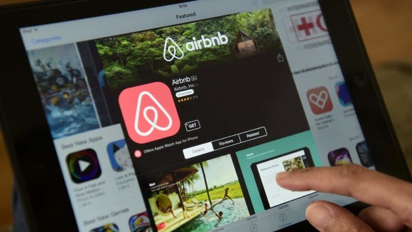 You don't see Airbnb offering big discounts, because