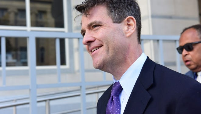 Bill Baroni, the former deputy executive director of the Port Authority, was convicted of conspiracy, fraud and violating the civil rights of commuters, in November 2016.