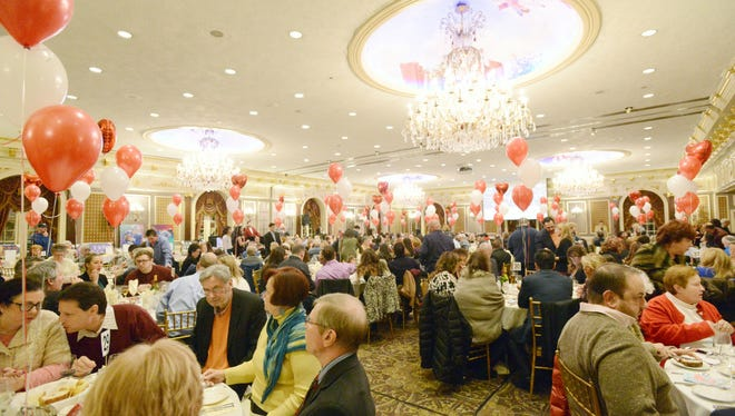 "With nearly 400 people attending, friends and family hold the ""Have a ""Heart"" for Vinnie"" fundraiser at The Brownstone in Paterson, Sunday Jan. 8. The money raised will help cover medical expenses for Vinnie Arcuri, 51, a Woodland Park man who has been hospitalized since April."