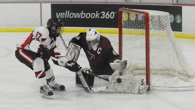 Senior goalie Tyler Gibson had 44 saves in his final game for Clifton.