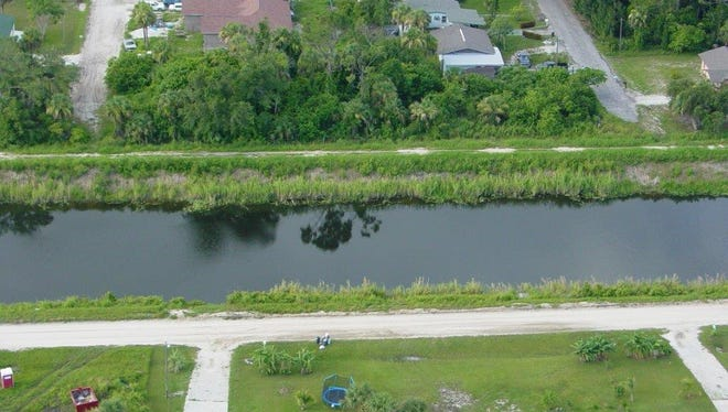 This photo is the Belcher Canal which is just north of Fort Pierce, where Fort Pierce resident Craig Ferguson drowned June 19, 2006, following a traffic stop conducted by the St. Lucie County Sheriff's Office. Ferguson's family sued the sheriff's office, but the 2011 federal trial, held in Fort Pierce, ended in a mistrial.