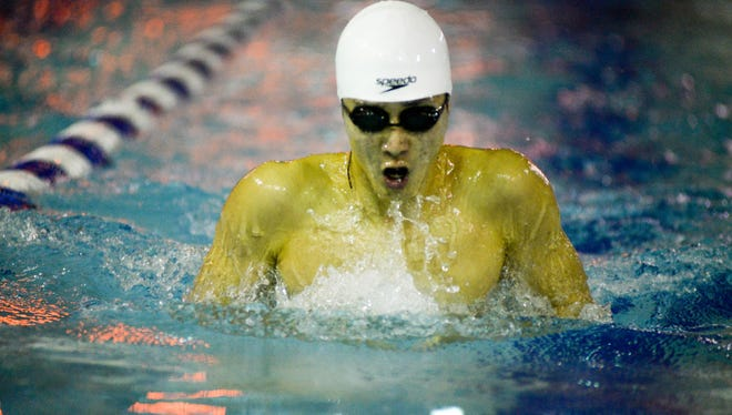 Phil Gong of NV/Demarest is one of the top returning swimmers in Bergen County.
