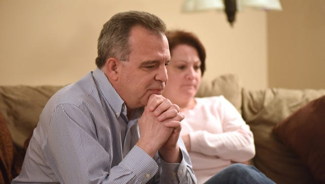 Jim and Stacey Rilee of Roxbury.