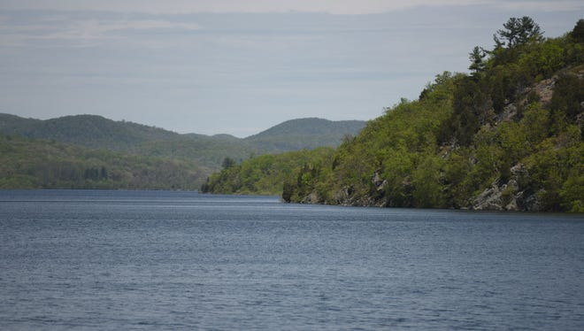 The Wanaque Reservoir in Ringwood. A new state report raises concerns about water supplies in the future.